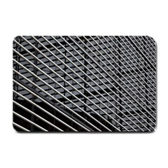Abstract Architecture Pattern Small Doormat  by Nexatart