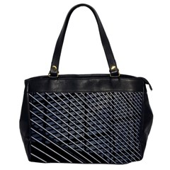 Abstract Architecture Pattern Office Handbags by Nexatart