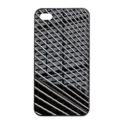 Abstract Architecture Pattern Apple Iphone 4/4s Seamless Case (black) by Nexatart