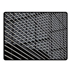 Abstract Architecture Pattern Double Sided Fleece Blanket (small)  by Nexatart