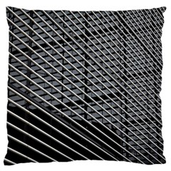 Abstract Architecture Pattern Standard Flano Cushion Case (one Side)