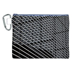 Abstract Architecture Pattern Canvas Cosmetic Bag (xxl)