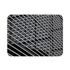 Abstract Architecture Pattern Double Sided Flano Blanket (mini)  by Nexatart