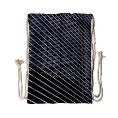 Abstract Architecture Pattern Drawstring Bag (small) by Nexatart