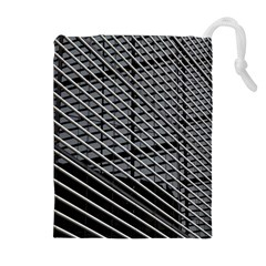 Abstract Architecture Pattern Drawstring Pouches (extra Large) by Nexatart