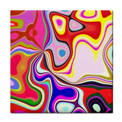 Colourful Abstract Background Design Face Towel