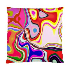 Colourful Abstract Background Design Standard Cushion Case (one Side) by Nexatart