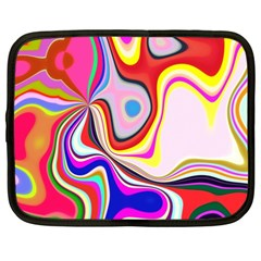 Colourful Abstract Background Design Netbook Case (xxl)  by Nexatart