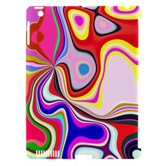 Colourful Abstract Background Design Apple Ipad 3/4 Hardshell Case (compatible With Smart Cover) by Nexatart