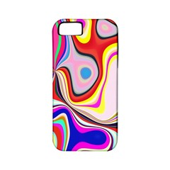 Colourful Abstract Background Design Apple Iphone 5 Classic Hardshell Case (pc+silicone) by Nexatart