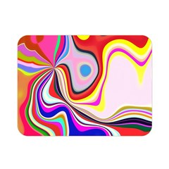 Colourful Abstract Background Design Double Sided Flano Blanket (mini)  by Nexatart