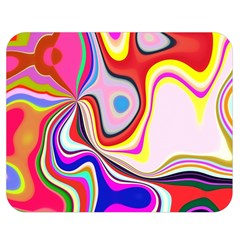Colourful Abstract Background Design Double Sided Flano Blanket (medium)