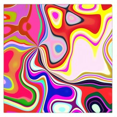 Colourful Abstract Background Design Large Satin Scarf (square) by Nexatart