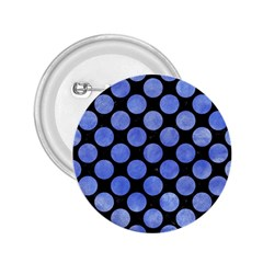Circles2 Black Marble & Blue Watercolor 2 25  Button by trendistuff