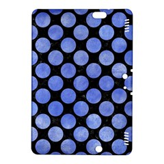 Circles2 Black Marble & Blue Watercolor Kindle Fire Hdx 8 9  Hardshell Case by trendistuff