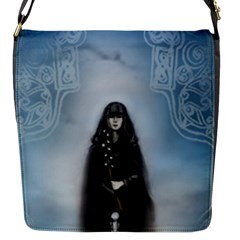 Soa Priestess Flap Closure Messenger Bag (small) by SisterhoodofAvalon