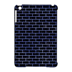 Brick1 Black Marble & Blue Watercolor Apple Ipad Mini Hardshell Case (compatible With Smart Cover) by trendistuff