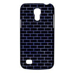 Brick1 Black Marble & Blue Watercolor Samsung Galaxy S4 Mini (gt I9190) Hardshell Case  by trendistuff