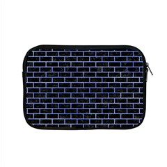 Brick1 Black Marble & Blue Watercolor Apple Macbook Pro 15  Zipper Case