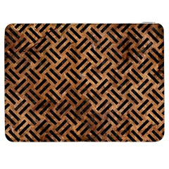 Woven2 Black Marble & Brown Stone (r) Samsung Galaxy Tab 7  P1000 Flip Case by trendistuff