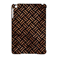 Woven2 Black Marble & Brown Stone Apple Ipad Mini Hardshell Case (compatible With Smart Cover) by trendistuff