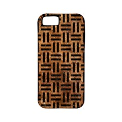 Woven1 Black Marble & Brown Stone (r) Apple Iphone 5 Classic Hardshell Case (pc+silicone) by trendistuff
