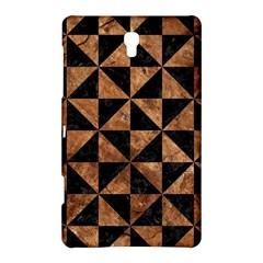 Triangle1 Black Marble & Brown Stone Samsung Galaxy Tab S (8 4 ) Hardshell Case  by trendistuff