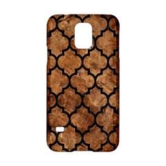 Tile1 Black Marble & Brown Stone (r) Samsung Galaxy S5 Hardshell Case  by trendistuff