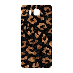 Skin5 Black Marble & Brown Stone (r) Samsung Galaxy Alpha Hardshell Back Case by trendistuff