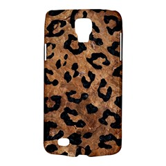 Skin5 Black Marble & Brown Stone Samsung Galaxy S4 Active (i9295) Hardshell Case by trendistuff
