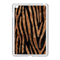 Skin4 Black Marble & Brown Stone (r) Apple Ipad Mini Case (white) by trendistuff