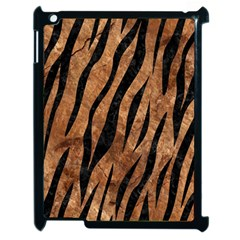 Skin3 Black Marble & Brown Stone (r) Apple Ipad 2 Case (black) by trendistuff