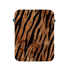 Skin3 Black Marble & Brown Stone (r) Apple Ipad 2/3/4 Protective Soft Case by trendistuff