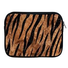Skin3 Black Marble & Brown Stone (r) Apple Ipad Zipper Case by trendistuff