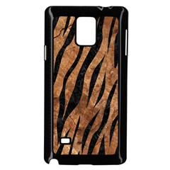 Skin3 Black Marble & Brown Stone (r) Samsung Galaxy Note 4 Case (black) by trendistuff