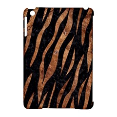 Skin3 Black Marble & Brown Stone Apple Ipad Mini Hardshell Case (compatible With Smart Cover) by trendistuff