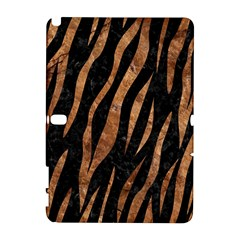 Skin3 Black Marble & Brown Stone Samsung Galaxy Note 10 1 (p600) Hardshell Case by trendistuff