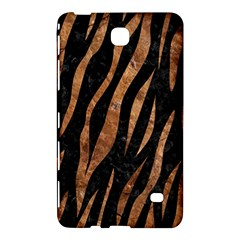 Skin3 Black Marble & Brown Stone Samsung Galaxy Tab 4 (7 ) Hardshell Case  by trendistuff