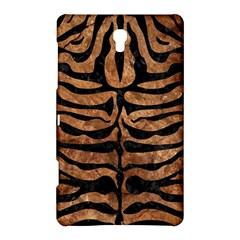 Skin2 Black Marble & Brown Stone (r) Samsung Galaxy Tab S (8 4 ) Hardshell Case  by trendistuff