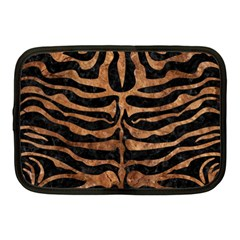 Skin2 Black Marble & Brown Stone Netbook Case (medium) by trendistuff