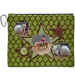 Holiday Family Bag - Canvas Cosmetic Bag (XXXL)