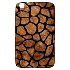Skin1 Black Marble & Brown Stone Samsung Galaxy Tab 3 (8 ) T3100 Hardshell Case  by trendistuff