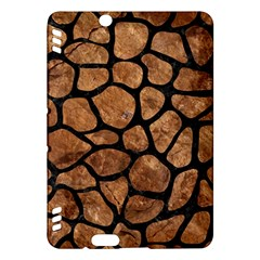 Skin1 Black Marble & Brown Stone Kindle Fire Hdx Hardshell Case by trendistuff