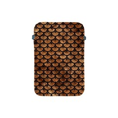 Scales3 Black Marble & Brown Stone (r) Apple Ipad Mini Protective Soft Case by trendistuff