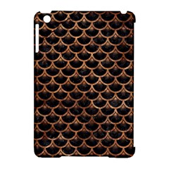 Scales3 Black Marble & Brown Stone Apple Ipad Mini Hardshell Case (compatible With Smart Cover) by trendistuff