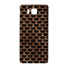 Scales3 Black Marble & Brown Stone Samsung Galaxy Alpha Hardshell Back Case by trendistuff