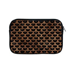 Scales3 Black Marble & Brown Stone Apple Macbook Pro 13  Zipper Case by trendistuff