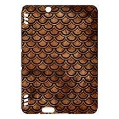 Scales2 Black Marble & Brown Stone (r) Kindle Fire Hdx Hardshell Case by trendistuff