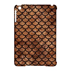 Scales1 Black Marble & Brown Stone (r) Apple Ipad Mini Hardshell Case (compatible With Smart Cover) by trendistuff