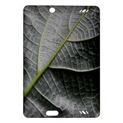 Leaf Detail Macro Of A Leaf Amazon Kindle Fire Hd (2013) Hardshell Case by Nexatart